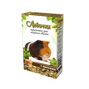 Корм ЛЮБИМЧИК для морских свинок 400г (орех)