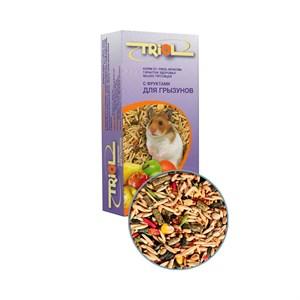 Корм ТРИОЛ для грызунов 500г (фрукты)