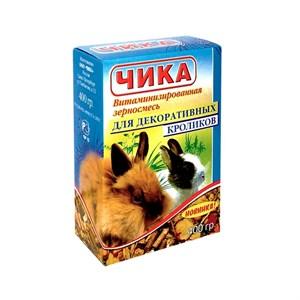 Корм ЧИКА для кроликов 400г