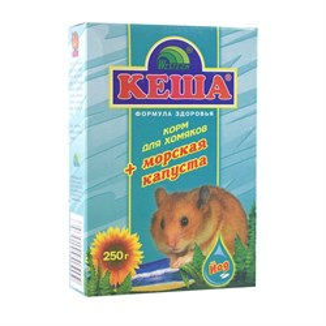 Корм КЕША для хомяков 250г (морская капуста)