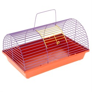 Клетка для грызунов полукруглая без этажа (металл)