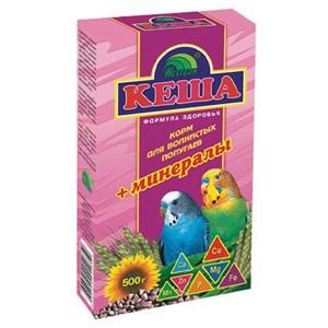 Корм КЕША для попугаев 500г (минералы)
