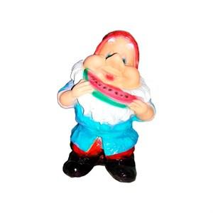 Фигура Гном с арбузом