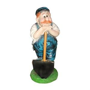 Фигура Землекоп с лопатой