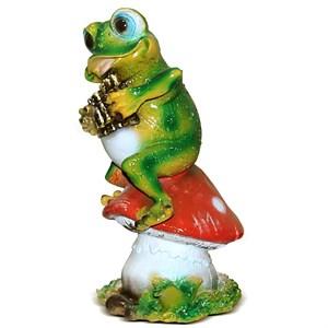 Фигура Лягушка с флейтой
