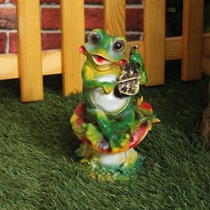 Фигура Лягушка со скрипкой