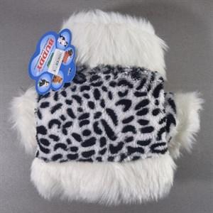 Шубка для собак Леопардовая утепленная