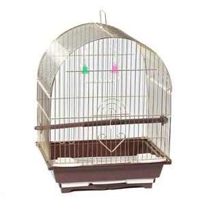 Клетка д/птиц 100G 30*23*39см золотая