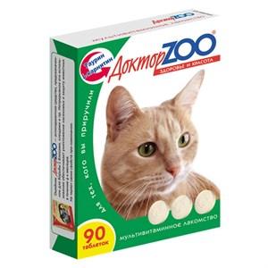 Лакомство ДОКТОР ЗОО для кошек 90т здоровье и красота