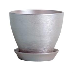 Горшок КСЕНИЯ 4 5,25л серебро