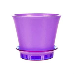 Горшок Лотос 18,7*15,6 фиолетовый
