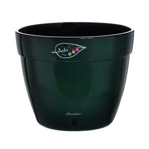 Горшок Асти 15л зеленый-черный