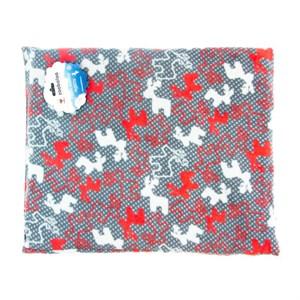 Лежак коврик S прямоугольный с оленями 50*40см