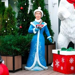 Садовая фигура Снегурочка U08262