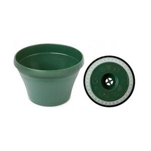 Горшок Люкс подвесной 230*142 3,5л зеленый