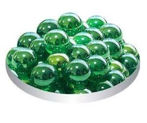 Грунт стеклянный №44 50шт круглый лесная зелень