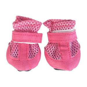 Обувь для собак мягкая розовая X403L