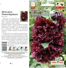 Шток-роза темно-бордовая 0,1гр