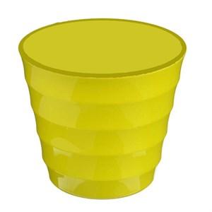 Горшок Лаура 0,7л желтый