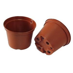Горшок для рассады 11*8 круг 0,55л коричневый