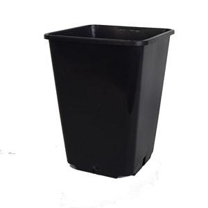 Горшок для рассады 15*20 квад 2,8л черный