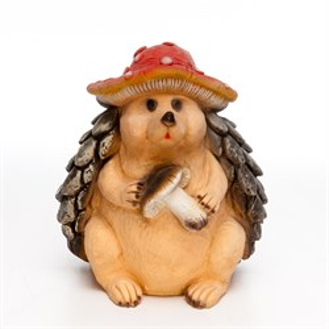 Фигура Еж в шляпе гриба - фото 54440
