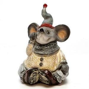 Фигура Крыс в шарфе - фото 54622