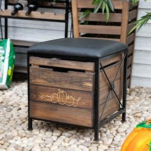 Ящик для хранения с мягким сиденьем