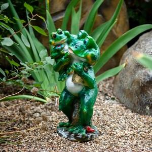 Фигура Лягушка с лягушонком - фото 61110