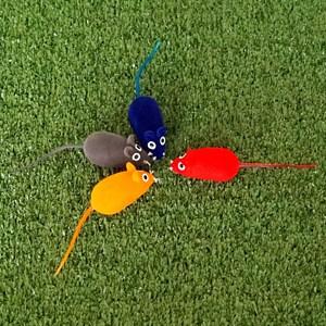 Игрушка Мышь с пищалкой PVC003