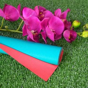 Бумага крафт гладкая 70см двухсторонняя красный/зеленый