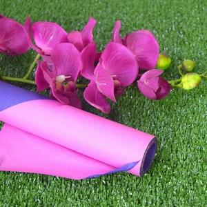 Бумага крафт гладкая 70см двухсторонняя фуксия/фиолетовый