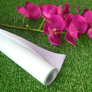 Бумага крафт гладкая 70см двухсторонняя светло-голубой/мятный