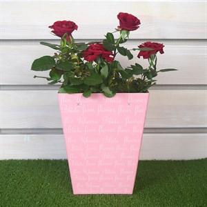 Коробка для цветов крафт 12,5*18*22,5