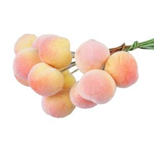 Персик на проволоке 3см 12шт