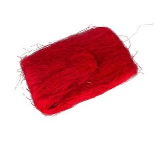 Сизалевое волокно 40гр красный