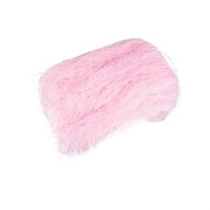 Сизалевое волокно 40гр светло-розовое