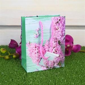 Сумочка ламинир. Цветы 12*15*6см