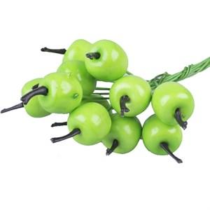 Яблоко на проволоке 3см 12шт