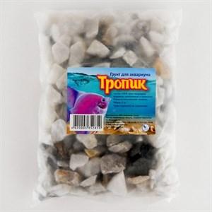 Грунт аквариумный Тропик 1 кг (50%гальки+50)