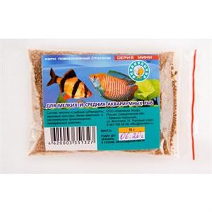 Корм Аквакулинар для мелких и средних рыб 15г