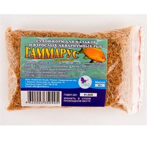 Корм Гаммарус измельченный для рыб  15гр