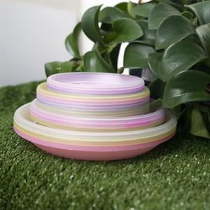 Подставка под дренажный горшок 13*9,7 фиолетовый