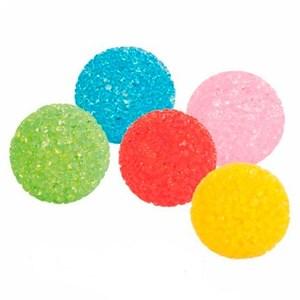 Игрушка Мячик кристаллический со звоном 4см
