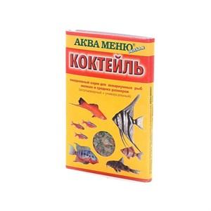 КОРМ АКВА-МЕНЮ коктейль для рыб 15г