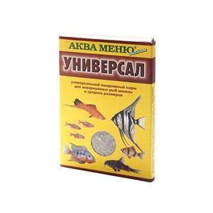 КОРМ АКВА-МЕНЮ универсал для рыб 30г