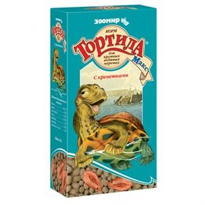 КОРМ ТОРТИЛА-МАКС для водяных черепах 70г