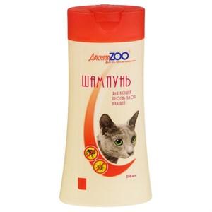Шампунь ДОКТОР ЗОО для кошек антипаразитарный 250мл