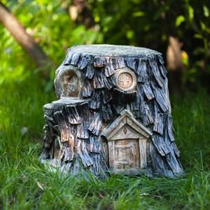 Пень дом гномов