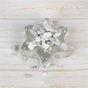 Грунт ТРИТОН природный 800г мрамор серо-белый